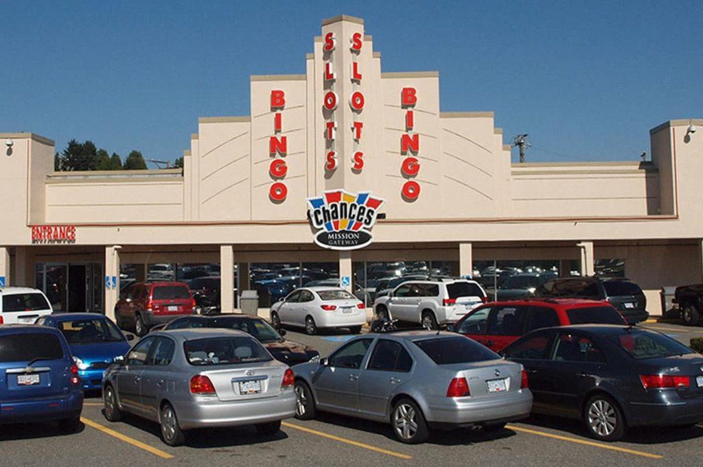 Chances Casino Mission main entrance