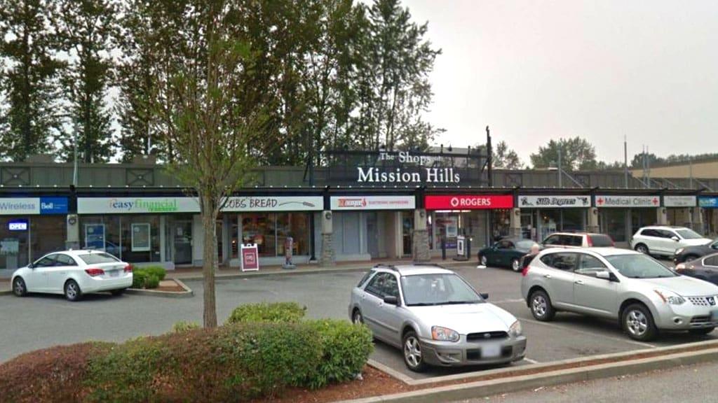Mission Hills Shopping Center Parking